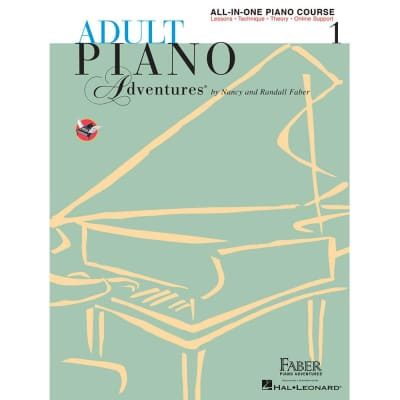 Adult Piano Adventures: All-in-One Piano Course - Book 1