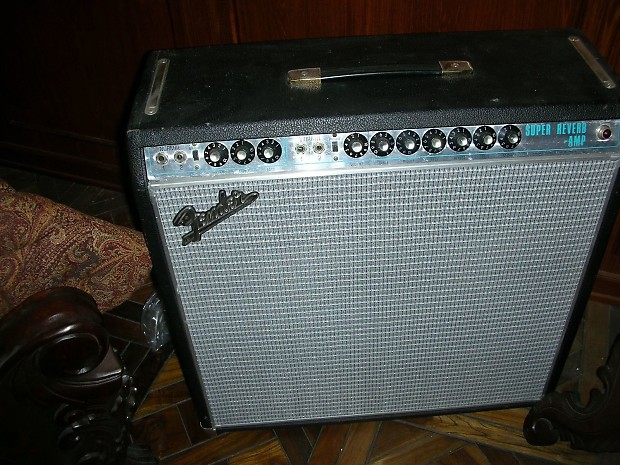 Vintage Super Reverb 1968 69 Circuit Reworked Essentially A 65 67 Blackface