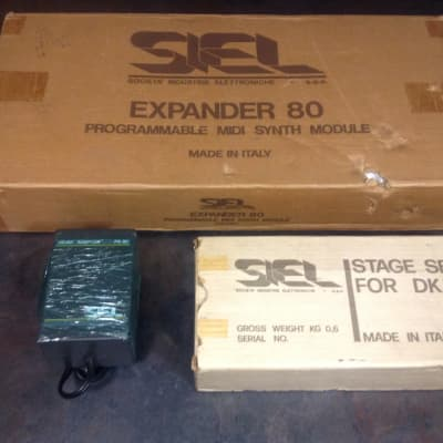 SIEL EX-80 Expander Analog Synthesizer NIB RARE!