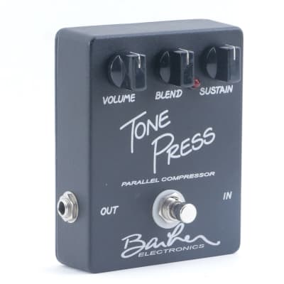 Barber Tone Press Compression Guitar Effects Pedal P-11247