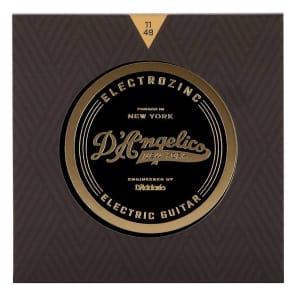 D'Angelico DAR1149 Electrozinc Rock Guitar Strings - Medium (11-49)