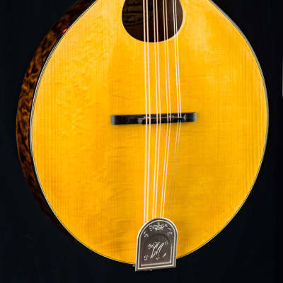 Hinde Octave Mandolin Custom A Model Bearclaw Adirondack Spruce and Quilted Maple NEW for sale