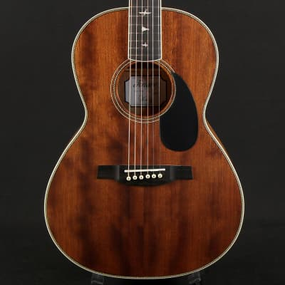 Paul Reed Smith PRS P20 Vintage Mahogany Parlor Acoustic Guitar (D15112)