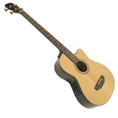Acoustic Cutaway Bass Guitar with Electronics for sale