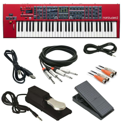 Nord Wave 2 Performance Synthesizer with FREE cables/pedals