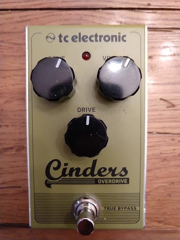 tc electronic cinders analog overdrive pedal hoosier gear reverb. Black Bedroom Furniture Sets. Home Design Ideas