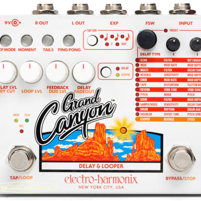 Electro Harmonix Grand Canyon Delay & Looper Effect Pedal for sale