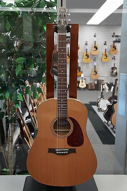 Seagull S6 Classic Dreadnought w/ M-450T Electronics Natural