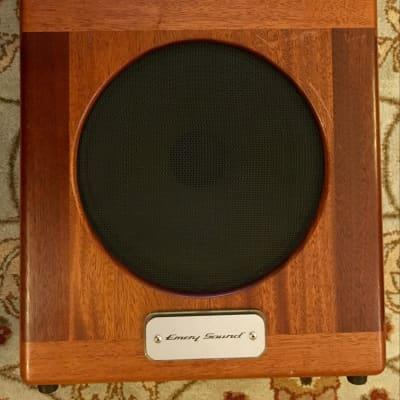 RARE! Emery Sound Dual Stagebaby: PtP, HW, 6-35w Head w/ Boost Footswich, Tone Tubby Hempcone 1x12 OB Cab for sale