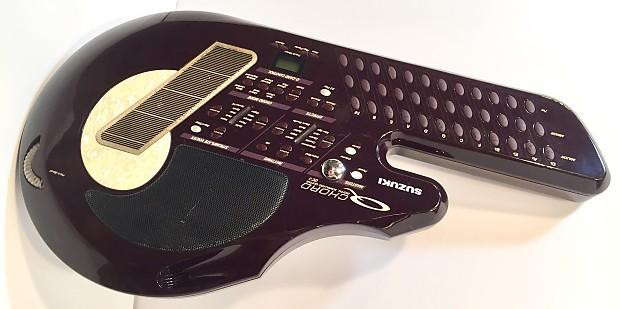 Suzuki Synthesizer And Drum Machine Modern Omnichord Q Chord Reverb