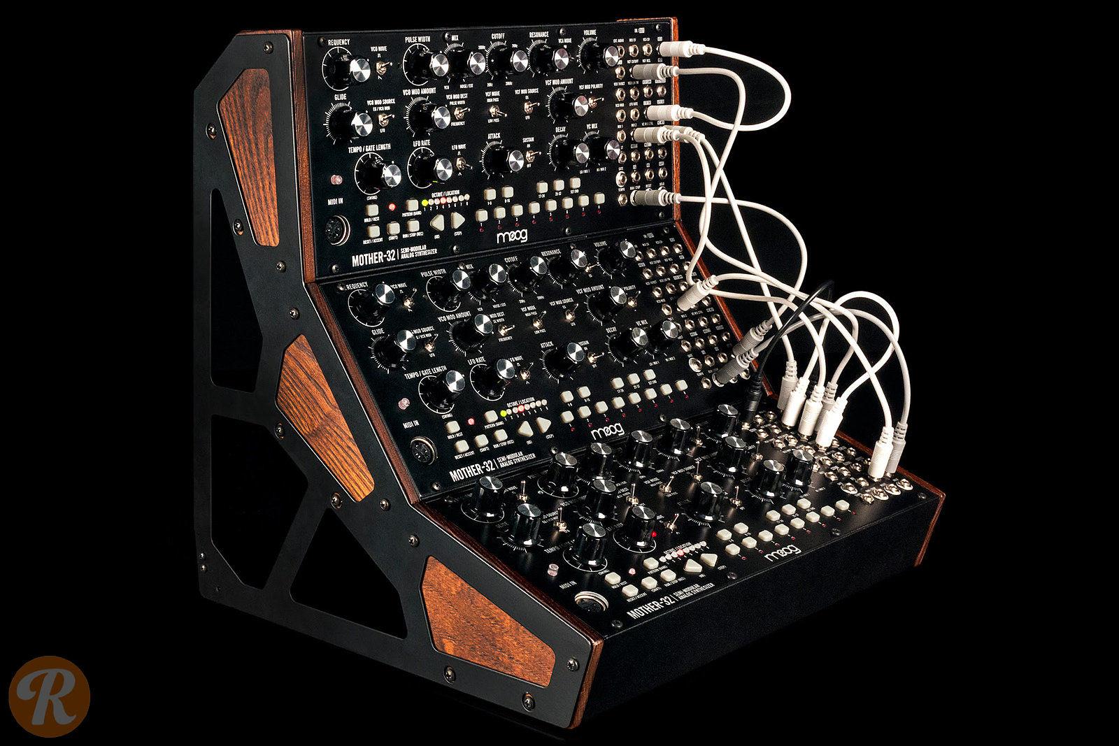 moog mother 32 tabletop semi modular synthesizer reverb. Black Bedroom Furniture Sets. Home Design Ideas