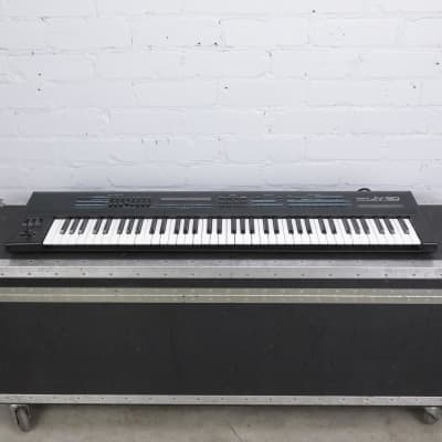 Roland JV-90 76-Key Expandable Synthesizer w/ A&S Road Case #42420