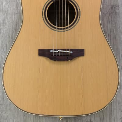 Takamine P3DC-LH Left-Handed Acoustic-Electric Guitar Rosewood Fingerboard