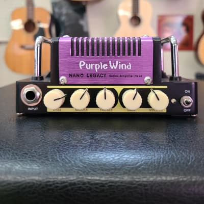 Hotone Nano Legacy Purple Wind Guitar Amp Head (used) for sale