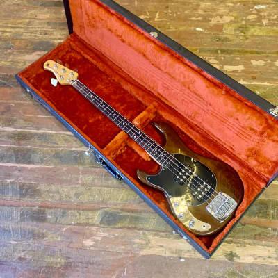 LEFTY! -Musicman Sabre Bass c 1978 walnut original vintage Leo fender USA left handed for sale