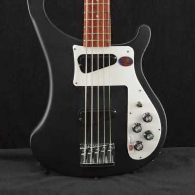 Rickenbacker 4003S/5 Matte Black with Hard Shell Case