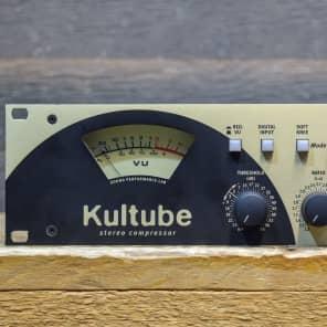 SPL Audio Kultube Stereo Compressor Discrete Class A Gain Cell Audio Effect Rack