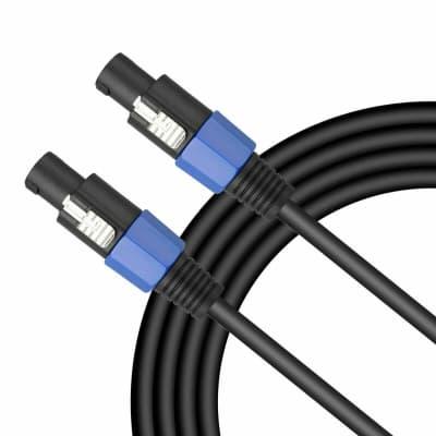 MR DJ CSMSM-100 Speakon Male to Speakon Male Speaker Cable 100 feet
