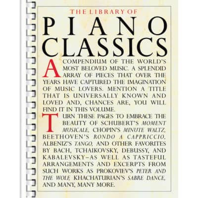 The Library of Piano Classics (Piano Solo) (Library Of Series)