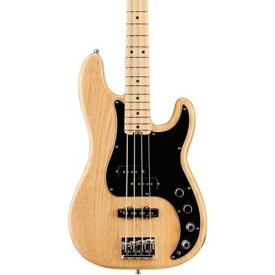 Fender American Elite Precision Bass Ash Natural W/ Elite Case for sale