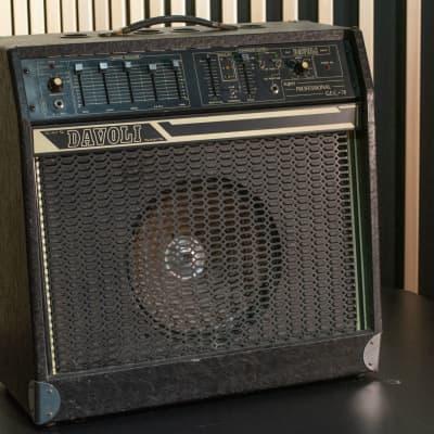 Davoli Super Professional Vintage 1970-1980 Black for sale