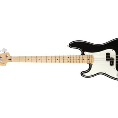 Fender Player Precision Bass Left-Handed Bass Guitar (Black, Maple Fingerboard) (Used/Mint)