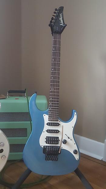 Washburn Mercury Series MG40 Strat HSS Style 1992 Lake Placid Blue on