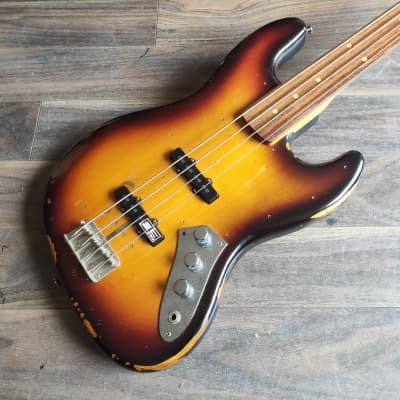 2007 Edwards (by ESP) Jaco Pastorius Fretless Jazz Bass Guitar (Made in Japan) for sale