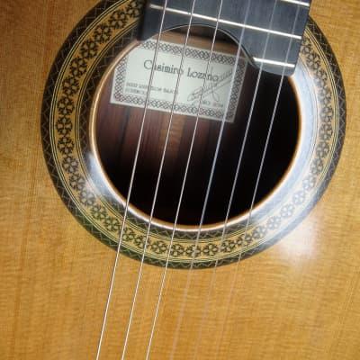 Casimiro Lozano Concert Guitar 2014 French Polish for sale