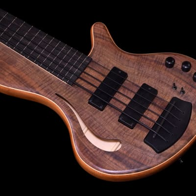 Adamovic Hollow 33 Fretless 5-string - Flamed Walnut top - NEW for sale