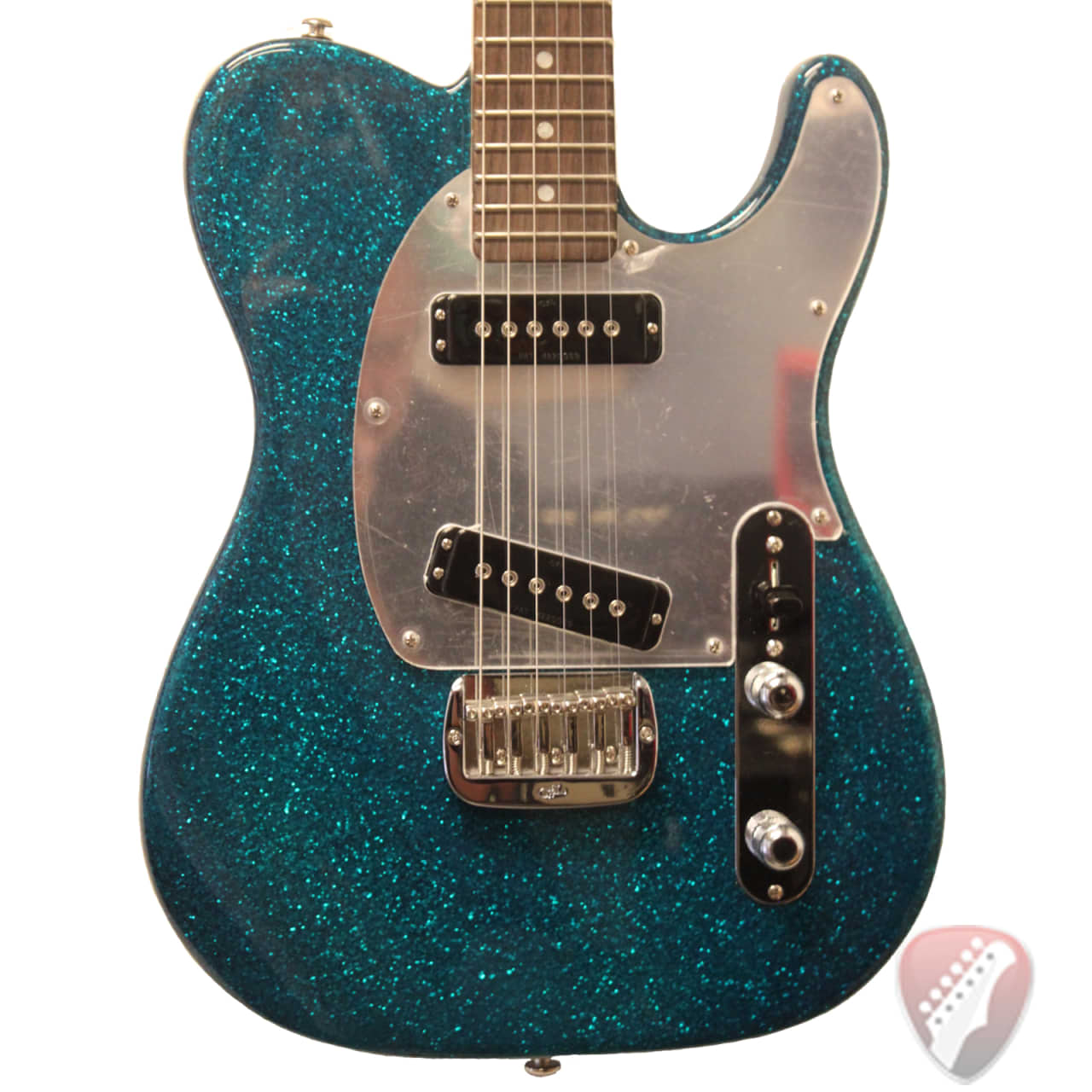 g l asat special electric guitar in turquoise metal flake reverb. Black Bedroom Furniture Sets. Home Design Ideas