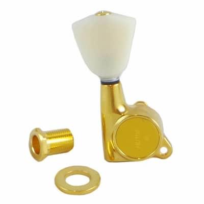 Gotoh Locking Tuners - Schaller Type - SG381 Gold (3 per side) 07112GYX