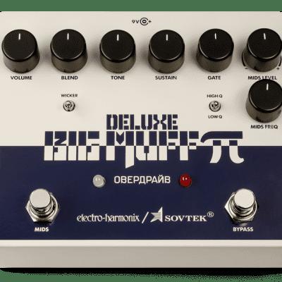 EHX Electro-Harmonix Sovtek Deluxe Big Muff Pi Distortion Guitar Effects Pedal