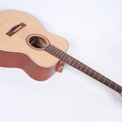 New Journey RT410 Road Trip Travel Guitar  Spruce Top With  Case #01005 @ LA Guitar Sales