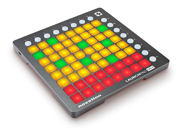 Novation Launchpad Mini USB Midi Controller for Performing and Producing  Music with iPad, Mac and PC