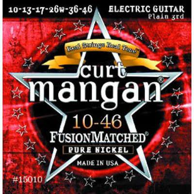 Curt Mangan Pure Nickel 10-46 Electric Guitar Strings