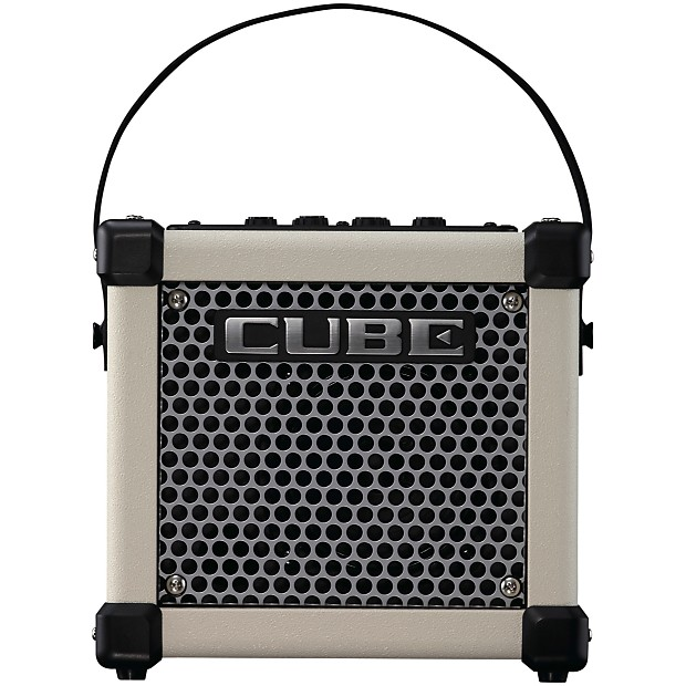 roland micro cube gx guitar amplifier white zzounds reverb. Black Bedroom Furniture Sets. Home Design Ideas