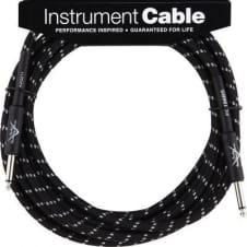 Fender Custom Shop Perf Series 18.6' Cable Black Tweed