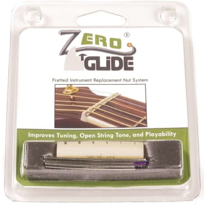 Genuine Zero Glide ZS-14 Slotted nut replacement system for Guitars image