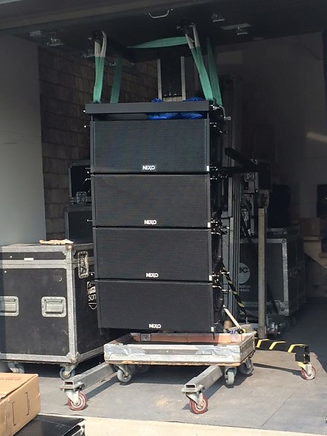 Electrovoice QSC Nexo custom complete plug and play Line array sound system