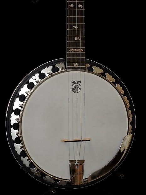 used deering boston left handed lefty 5 string banjo w reverb. Black Bedroom Furniture Sets. Home Design Ideas