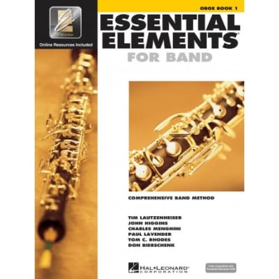 Essential Elements For Band Method Book 1 with EEi -Oboe