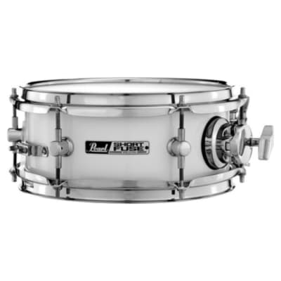 Pearl LTD Short Fuse 10 x 3.5'' Snare Drum Pure White w/ Rotating Mounting Clamp