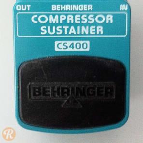 Behringer CS400 Compressor Sustainer Pedal