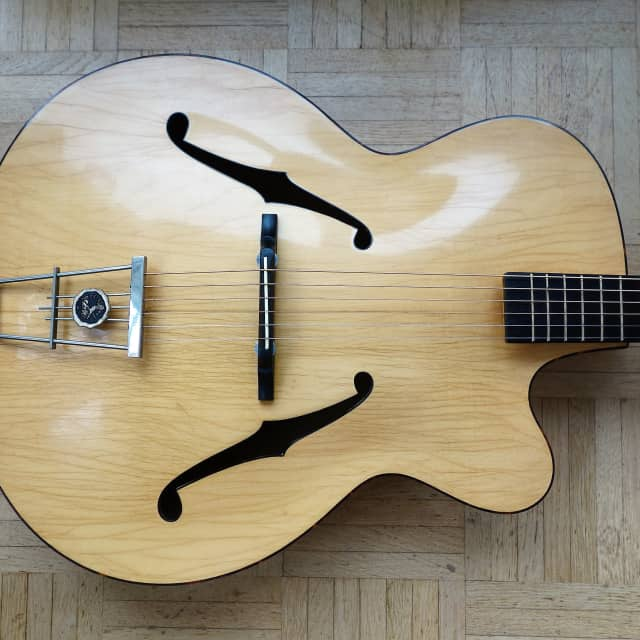 Hopf master archtop guitar ~1959 made in Germany image