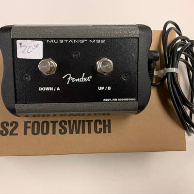 Fender 008-0997-000 MS2 Mustang Amp 2-Button Footswitch