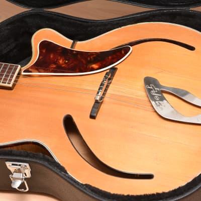 Hopf 319 / Gustav Glassl Archtop – 1950s German Vintage Jazz Guitar / Gitarre for sale