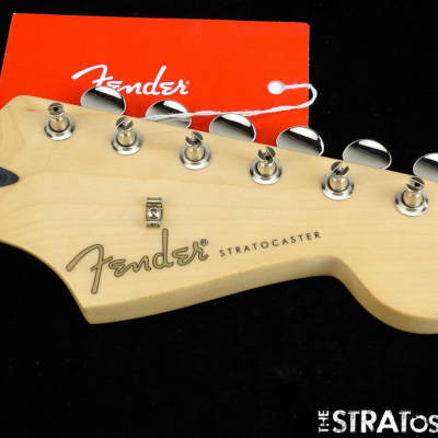 "Fender Jimmie Vaughan Stratocaster Strat NECK + TUNERS Guitar Maple ""V"" SALE!"
