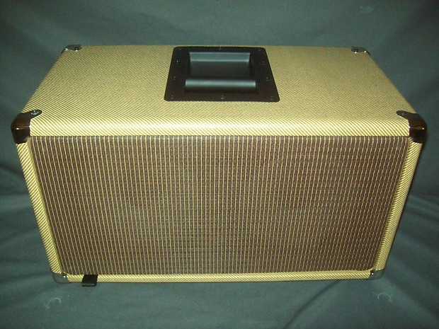 tweed earcandy bailey 2x8 guitar amp speaker cab cabinet w reverb. Black Bedroom Furniture Sets. Home Design Ideas