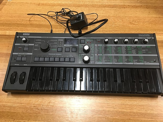 Discontinued korg microkorg xl synth/vocoder, limited edition.